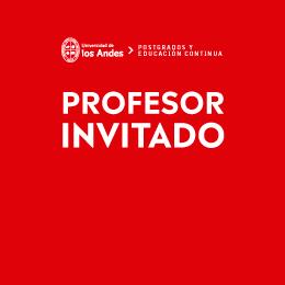 Profesor invitado: Andrés Biehl