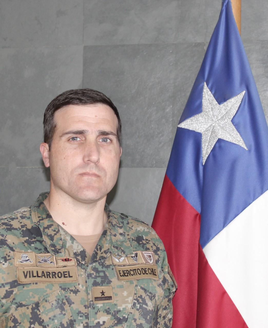 Mayor Alberto Villarroel Rivera